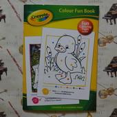 Развивающая раскраска Crayola 32 страницы.