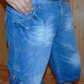 Фирменные стильные шорты бриджи бренд  Denim Co (Деним Ко).л-хл