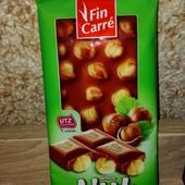 Шоколад с  Мега лесным орехом, 100 грамм, Фин карре, Fin Carre