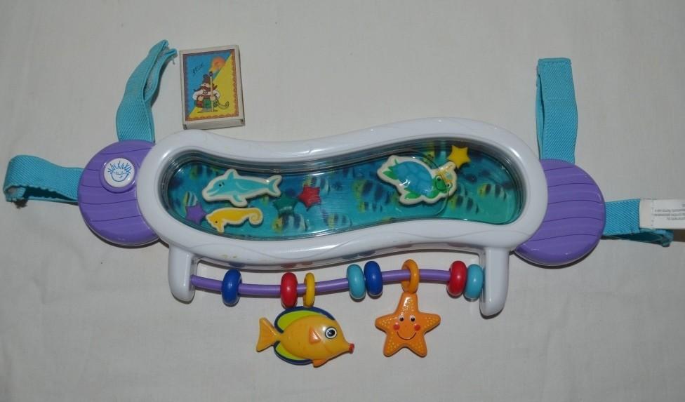Фирменная музыкальная игрушка для коляски и кроватки baby einstein беби эйнштейн фото №1