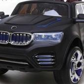 Детский электромобиль Джип Bmw M 2392 r-2, черный