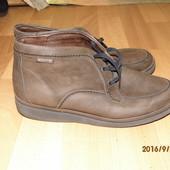фирменные кожаные ботинки 39-40 р Mephisto унисекс