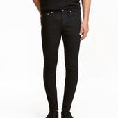 Мужские Skinny Н&M р.34 джинсы