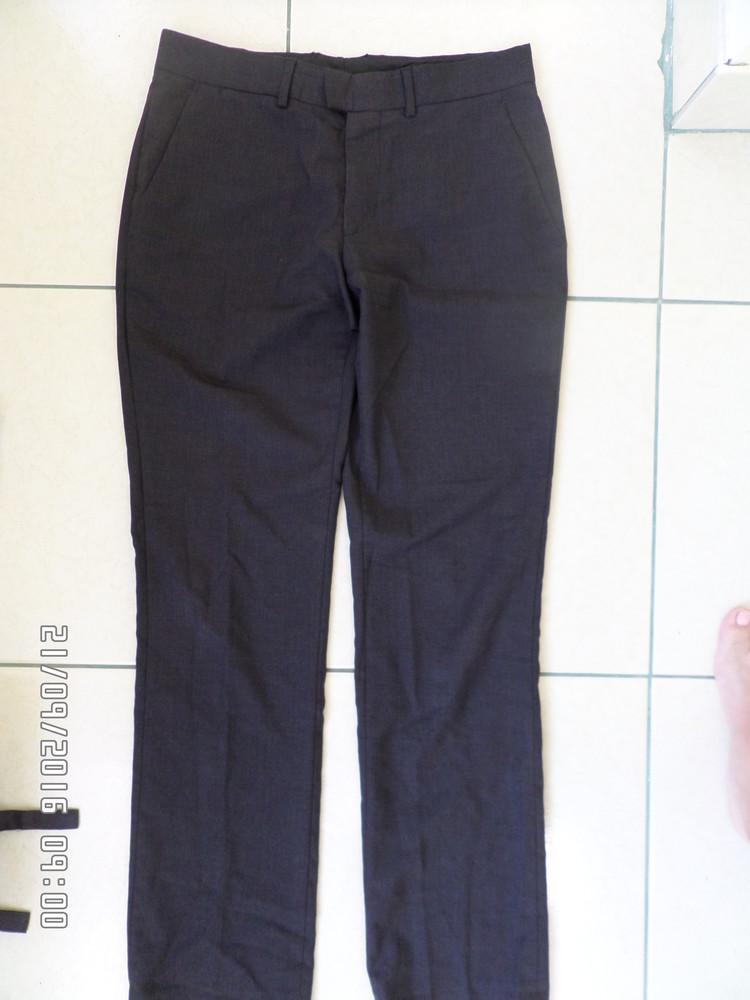 Zara Man фірмові штани на стрункого хлопця фото №1