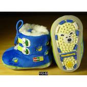 Теплые пинетки, ботинки с мягкой подошвой для малышей, супинатор, 12-14 размер, 112-52