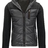 Куртка демисезонная мужская  вязаными рукавами