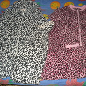 Флисовые слипы (пижамы, комбинезоны) разные
