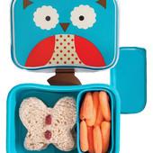 Бутербродница skip hop zoo контейнер для еды ланчбокс