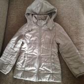 курточка для дівчинки 128 см фірма Oodji осіння утеплена