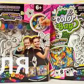 Клатч и косметичка раскраска Danko toys в ассортим.