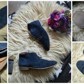 Стильные замшевые ботинки RI,р-р 44-45