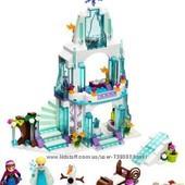 Lego Ледяной дворец Эльзы frozen disney princess, оригинал, 41062 в наличии