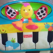 Мягкое пианино Fisher Price шлепай и играй
