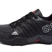 Кроссовки Adidas Supo Gore-Tex (черные, синие)