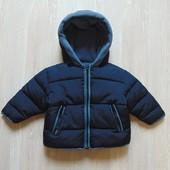 Стильная теплая куртка для мальчика. Baby Club. Размер 6-9 месяцев.