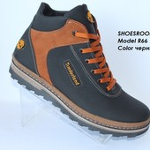 Мужские зимние ботинки на меху, 2 цвета