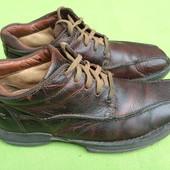Ботинки кожаные Clarks uk 7, р.41, ст.27см.
