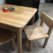 Набор стол и два стульчика