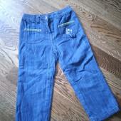 Утепленные джинсы для девочки 3 года