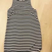 Шифоновое платье в полоску от H&M, S-М