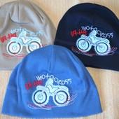 Трикотажная шапка для мальчика, 95% хлопок (Польша). Размер 48-52. Смотрите все фото. УП 10 грн