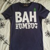 Крутая серая футболка Bah от Next, размер S