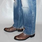 Ботинки 42 р.,  France arno, Франция, кожа, оригинал демисезон.