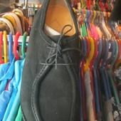Мужские туфли. Натуральный замш
