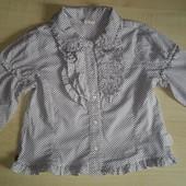Блузка на рост 110-116 см.