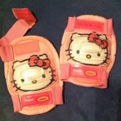 Детские защитные наколенники Hello Kitty
