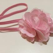 Повязка с цветком, бант для волос, цветок для волос