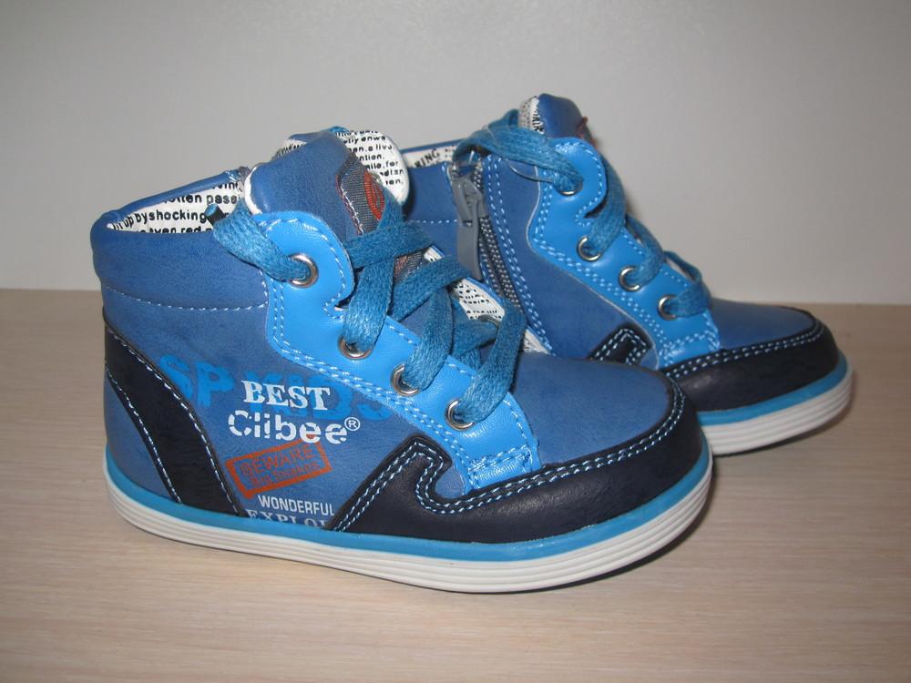 Ботинки демисезонные для мальчика clibee арт. 560 р. 21-26 кроссовки ... ae64c6d2f4cf8