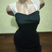 Черное платье George perfectly Petite!! Размер 48,L
