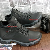 Мужские зимние кроссовки, 100%кожаная обувь, высокое качество изготовления, теплые и ноские