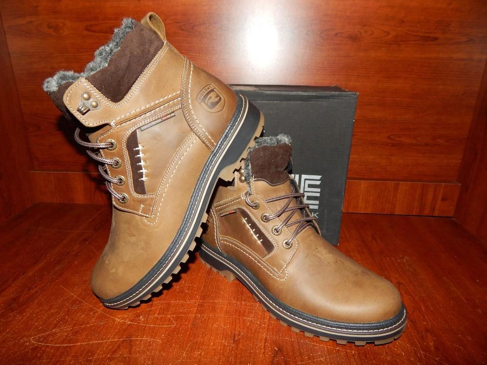 Мужские кожаные ботинки riccone оливка, цена 930 грн - купить Зимняя ... f1204167fa7