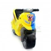 Мотоцикл 2-х колесный желто-синий