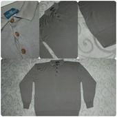 Бежевый пуловер.Большой размер - Зxl- 4xl.Свитер.Кофта.