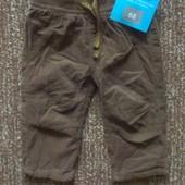 Детские штанишки на подкладке Lupilu, 62, 68,