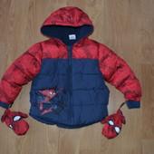 Куртка Спайдермен на 2-3 года