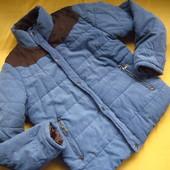 Цену снизила!Фирменная тёплая куртка, зима-осень