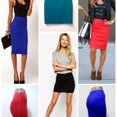 """Трикотажные юбки """"Карандаш"""" . Размеры от 42 до 52. ( 8 цветов, 3-и длины). Возможен пошив под заказ!"""