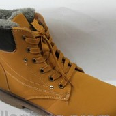 Мужские ботинки по типу Timberland. 3 цвета