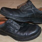 Clarks 44р Туфли На широкую ногу.. Мокасины. Ботинки. Полуботинки