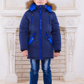 "Зимняя парка для мальчика ""Аляска"" (4 расцветки)"