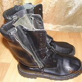 (№і8)кожаные ботинки берцы 40 р Франция