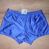 Италия! Стильные ярко голубые плавки шорты 46 М