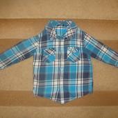Рубашка на мальчика 2-3 года
