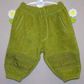 Утепленные штанишки 4-6 мес. baby baby