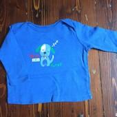 футболка длиннорукавка пижама F&F 3-6 m
