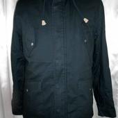 Темно-синия парка, куртка мужская Harvey&Jones 3 размера.
